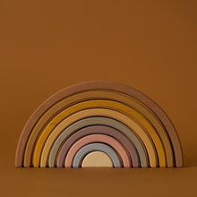 Load image into Gallery viewer, Large wooden arch stacker in desert rainbow