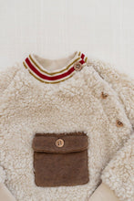 Load image into Gallery viewer, Fin & Vince Alfie pullover - gingerbread pocket