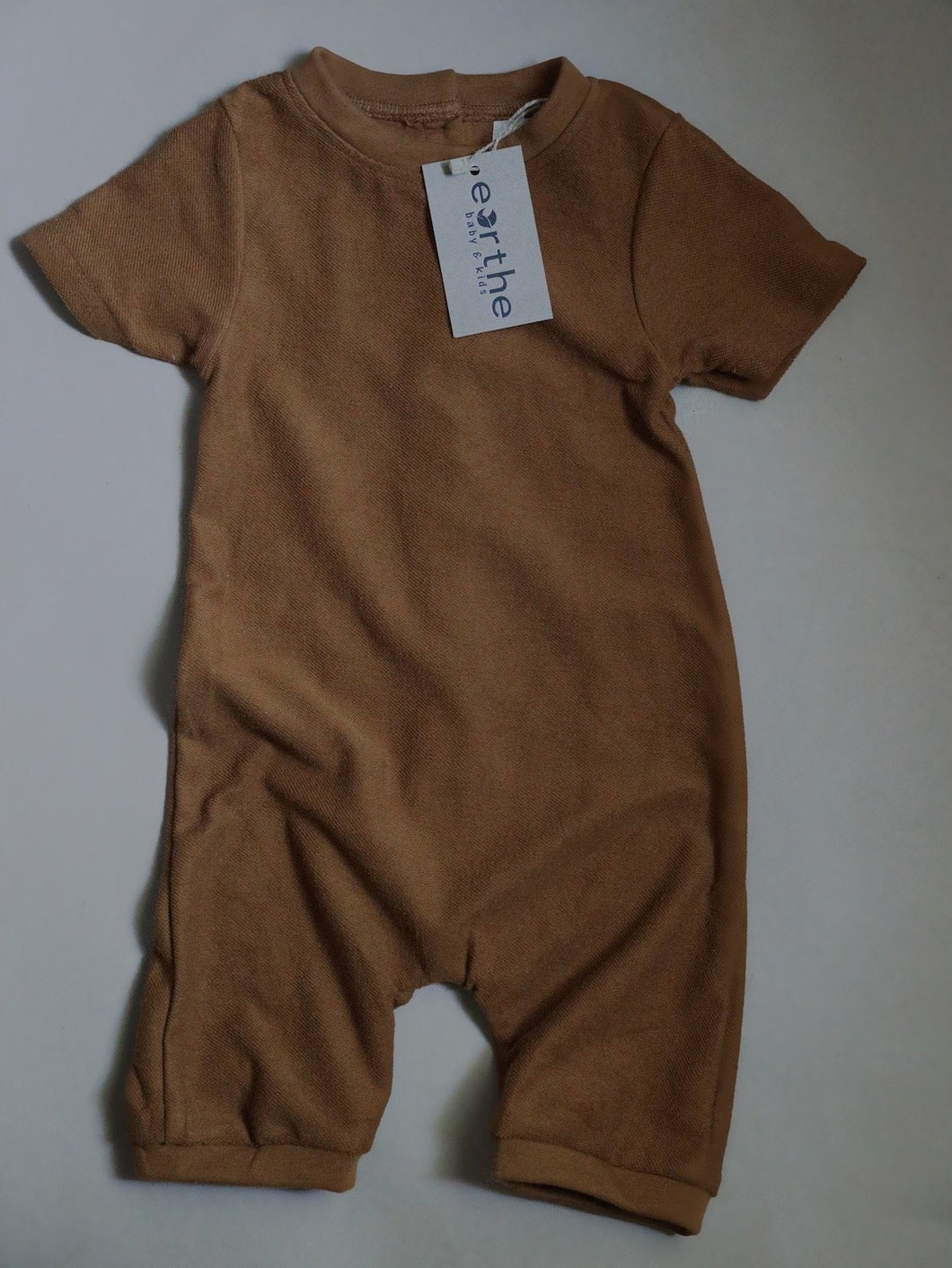 Terry jumpsuit - mocha