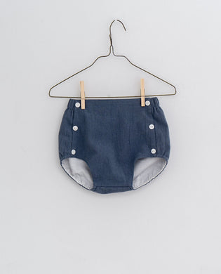 Folkstone bloomers - willow blue