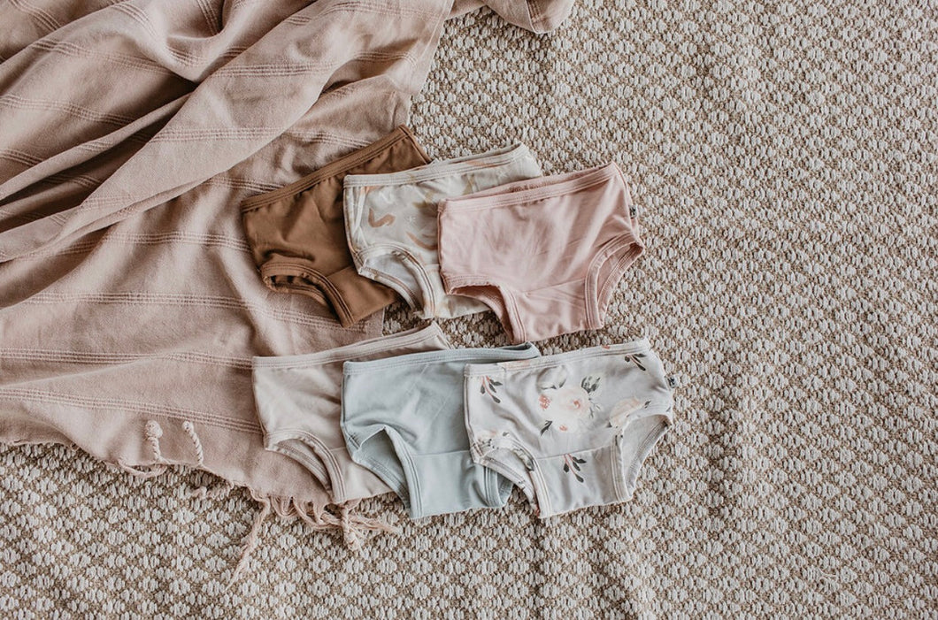 Undies - blushing floral