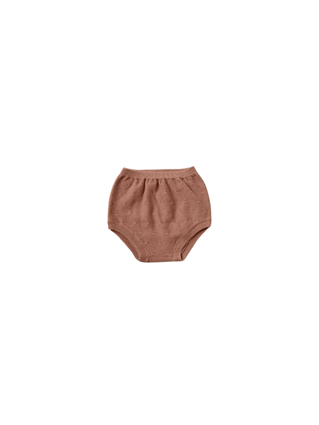 Quincy Mae knit bloomer - clay
