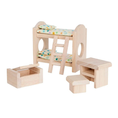 Dollhouse children's bedroom set - classic