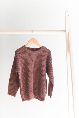 Knit sweater - rose