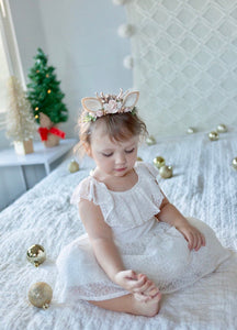 Baby fawn ears woodland headband