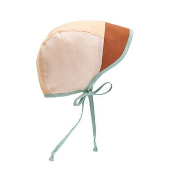 Briar brimmed color block bonnet - Beach Bum