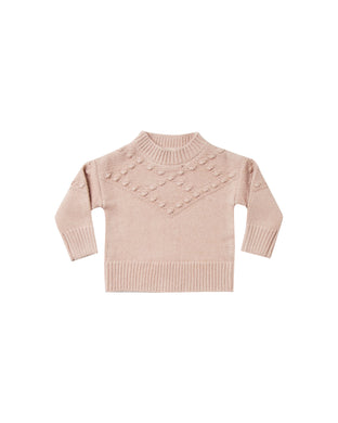 Bobble sweater - rose