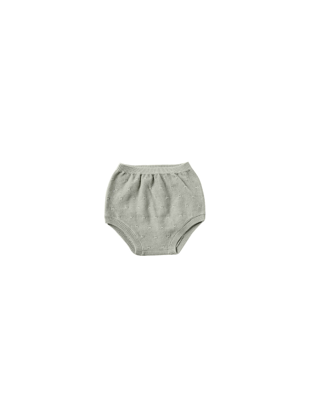 Quincy Mae knit bloomer - sage
