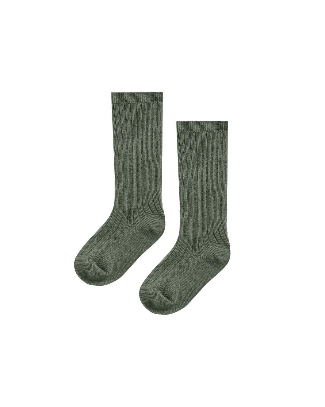 Ribbed knee sock set