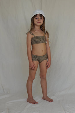 Ula swim set - jute linen
