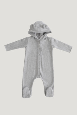 Jamie Kay bearsuit - light grey marle