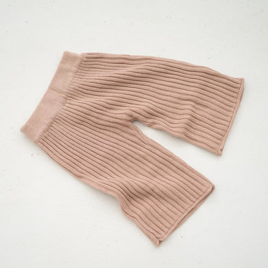 Essential knit pant - strawberry