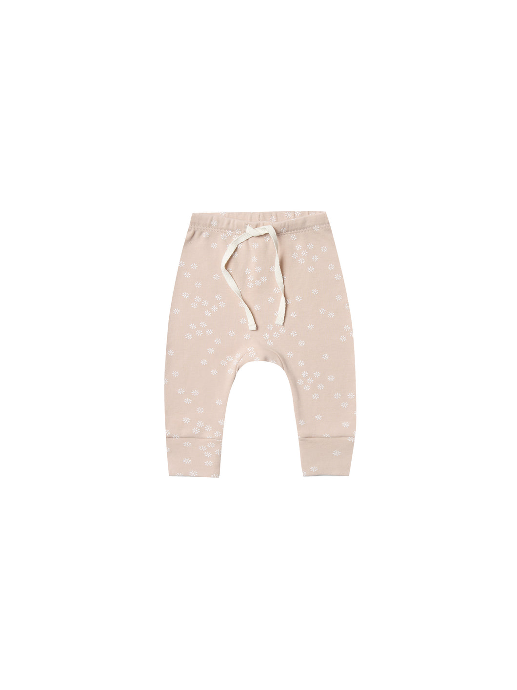 Quincy Mae drawstring pant - rose