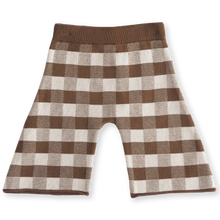 Load image into Gallery viewer, Gingham pant - earth + clay