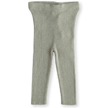 Load image into Gallery viewer, Ribbed leggings - seagrass