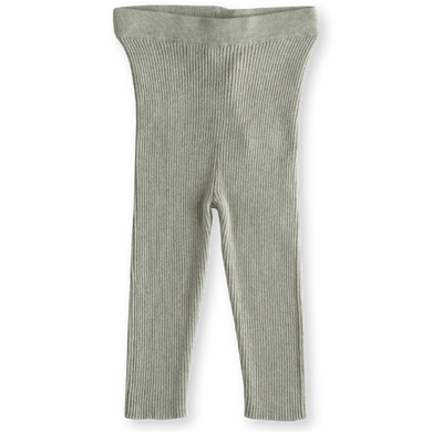 Ribbed leggings - seagrass