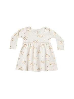 Quincy Mae baby dress - ivory