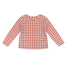 Load image into Gallery viewer, St. Ives shirt - rust gingham