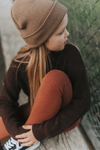 Load image into Gallery viewer, Knit sweater - chocolate