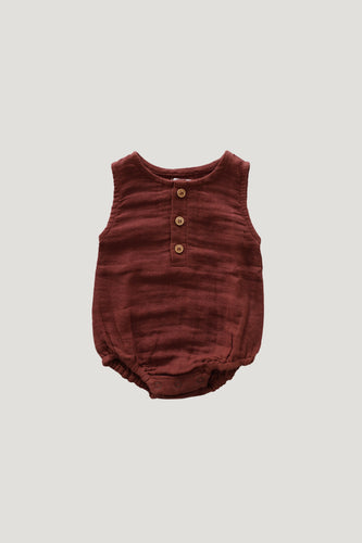 Jamie Kay Riley romper - clay