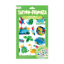 Load image into Gallery viewer, Temporary tattoos - Dino days