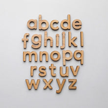 Load image into Gallery viewer, Wooden Alphabet Set • Montessori Movable Alphabet Set, Maple