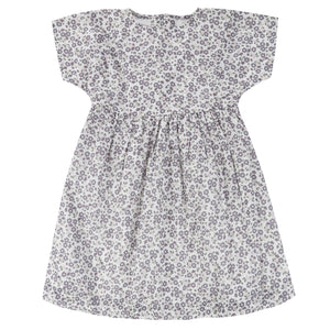 Jessica dress - daisy floral blue