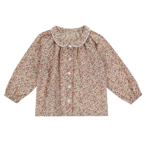 Annie blouse - pink floral