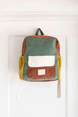 Fin & Vince colorblock backpack