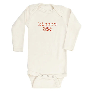 Kisses long sleeve onesie