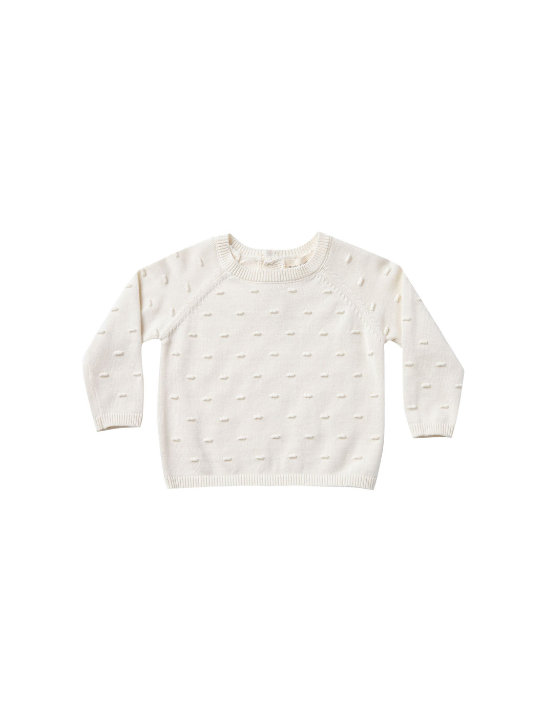 Quincy Mae Bailey knit sweater - ivory