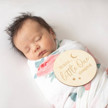 Load image into Gallery viewer, Little One Sleeping milestone disc