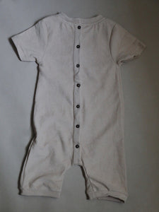 Terry jumpsuit - wheat