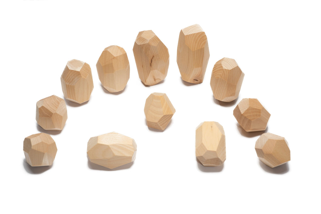Teniques (natural) - 12 pieces