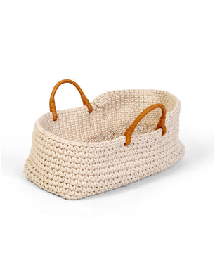 Knit doll basket carrier