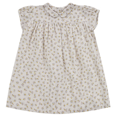 Hera dress - tiny buttercup floral