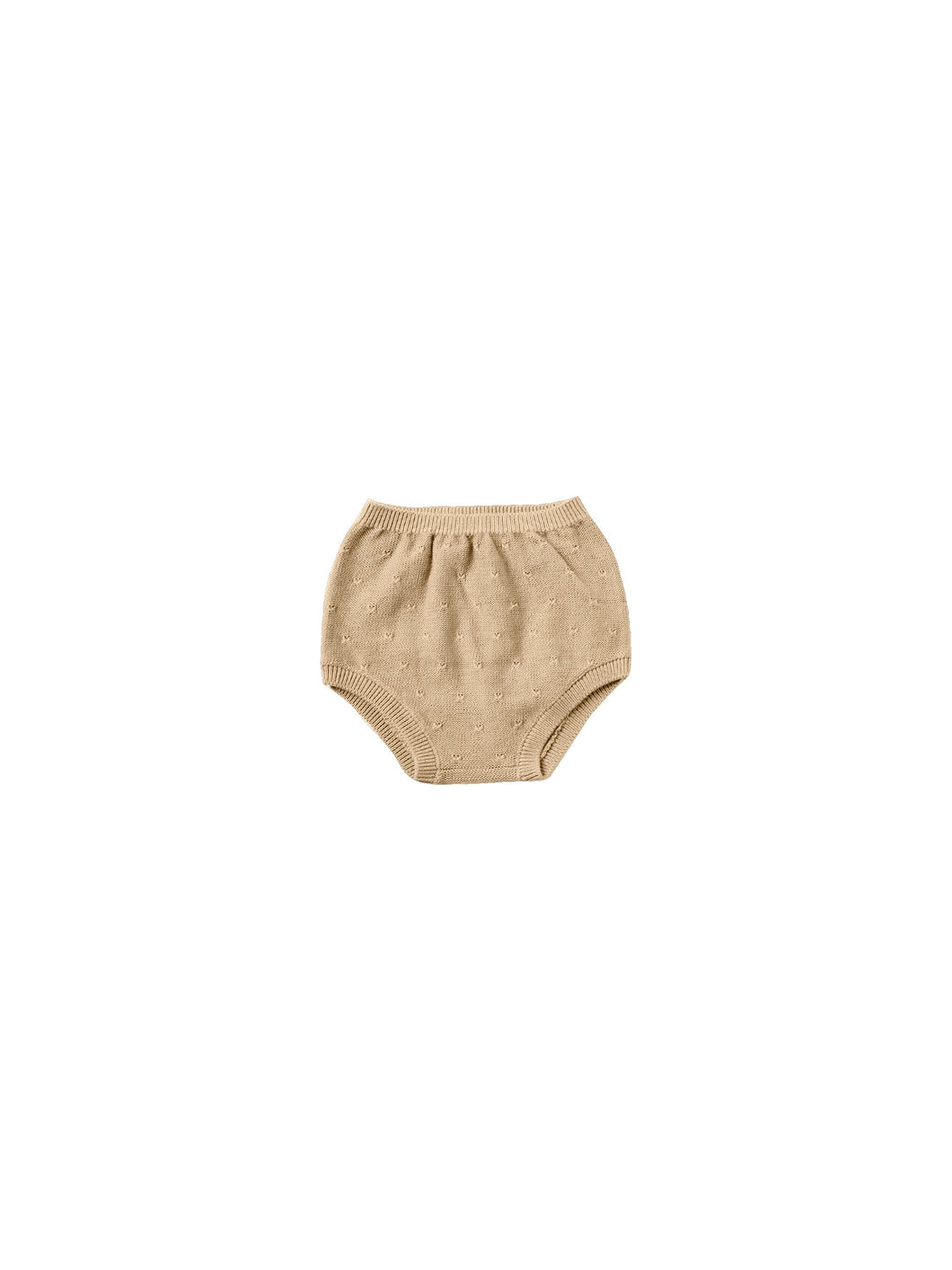 Quincy Mae knit bloomer - honey