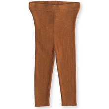 Load image into Gallery viewer, Ribbed leggings - terra-cotta