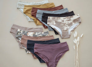 Ladies undies - terracotta