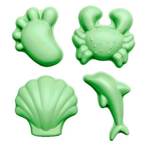Scrunch moulds (set of 4) - green