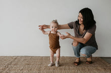 Load image into Gallery viewer, Tank onesie - bronze