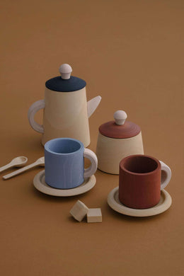 Tea set - earth