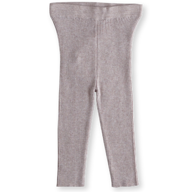 Ribbed leggings - lilac cloud