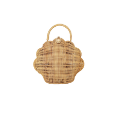 Load image into Gallery viewer, Shell purse - straw