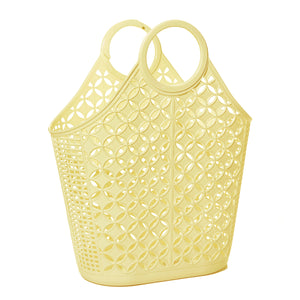 Atomic tote - yellow