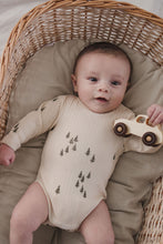 Load image into Gallery viewer, Fin & Vince long sleeve onesie - pine