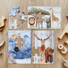 Load image into Gallery viewer, The Majestic Wild puzzle collection