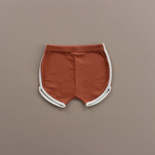 Fin & Vince track shorts - spice
