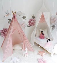 Load image into Gallery viewer, Sheer teepee in dusty pink