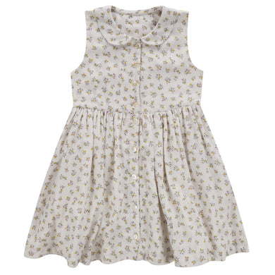 Maggie dress - tiny buttercup floral